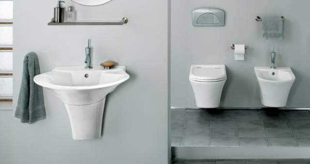 Sanitaire Sanindusa Sanitaire jade suspendu, porcelaine vitrifiée lavabo [...]
